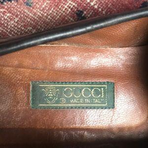 Gucci Shoes - Gucci crocodile horsebit loafers